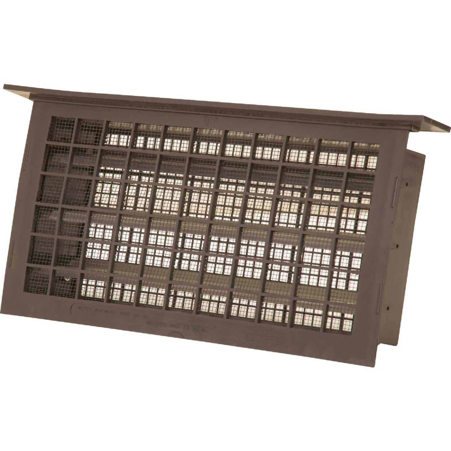 Witten 8 In. x 16 In. Brown Automatic Foundation Ventilator with Lintel Image 1