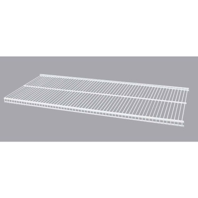 Organized Living FreedomRail 30 In. W. x 12 in. D Profile Ventilated Closet Shelf, White