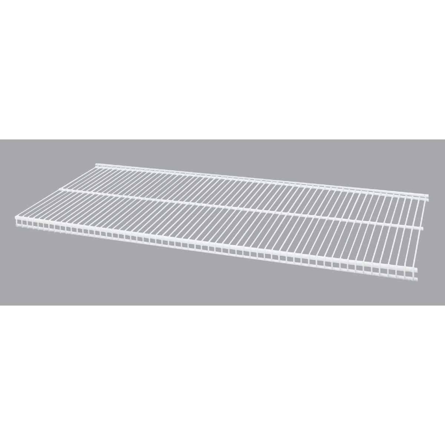 Organized Living FreedomRail 3 Ft. W. x 12 in. D Profile Ventilated Closet Shelf, White Image 1