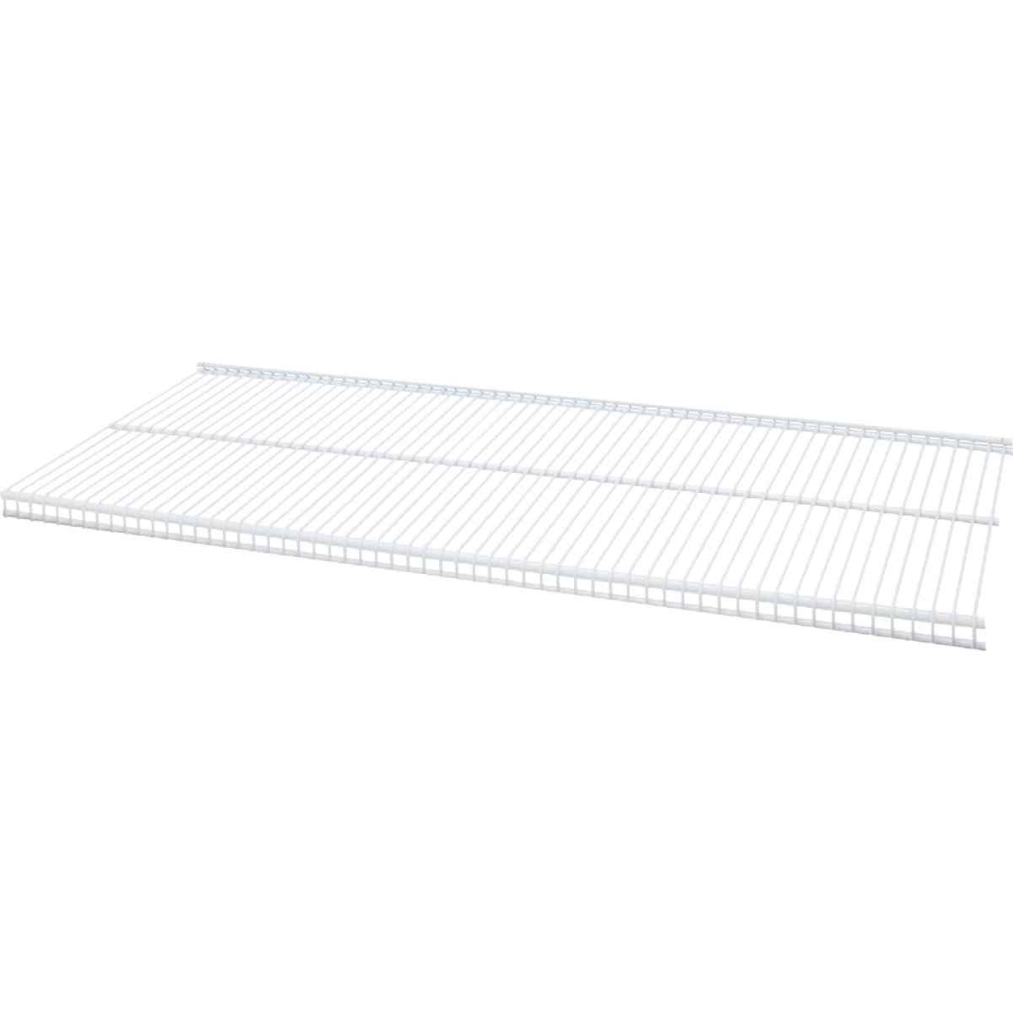 Organized Living FreedomRail 3 Ft. W. x 12 in. D Profile Ventilated Closet Shelf, White Image 2