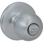 Kwikset Polo Satin Nickel Bed & Bath Door Knob Image 1