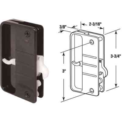 Prime-Line Screen Door Handle Set