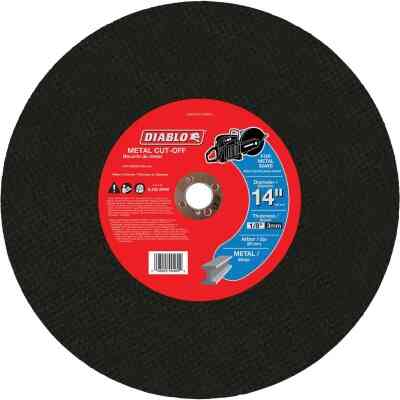 Diablo Type 1 14 In. x 1/8 In. x 20 mm Metal Cut-Off Wheel