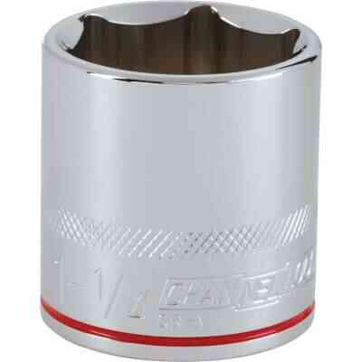Channellock 1/2 In. Drive 1-1/4 In. 6-Point Shallow Standard Socket