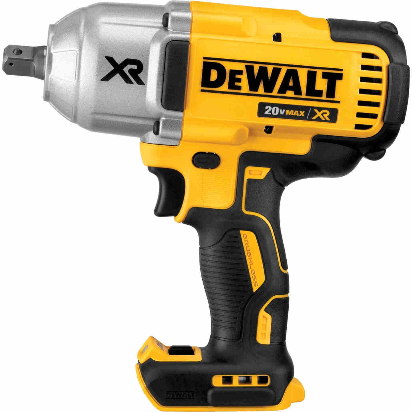 DeWalt 20 Volt MAX XR Lithium-Ion Brushless 1/2 In. Cordless Impact Wrench w/Detent Pin Anvil (Bare Tool) Image 1
