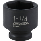 Channellock 1/2 In. Drive 1-1/4 In. 6-Point Shallow Standard Impact Socket Image 1