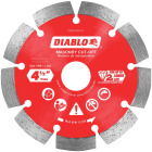 Diablo 4-1/2 In. Segmented Rim Dry/Wet Cut Diamond Blade Image 1