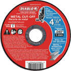 Diablo Type 1 4-1/2 In. x 0.040 In. x 7/8 In. Metal Cut-Off Wheel (15-Pack) Image 1