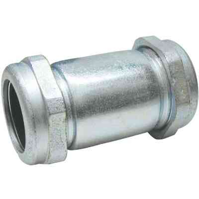 B&K 1-1/2 In. x 5 In. Compression Galvanized Coupling