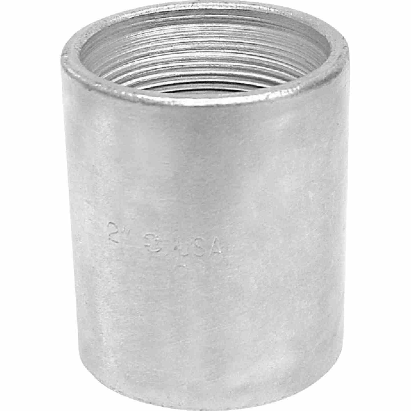 Anvil 1/2 In. x 1/2 In. FPT Standard Merchant Galvanized Coupling Image 1