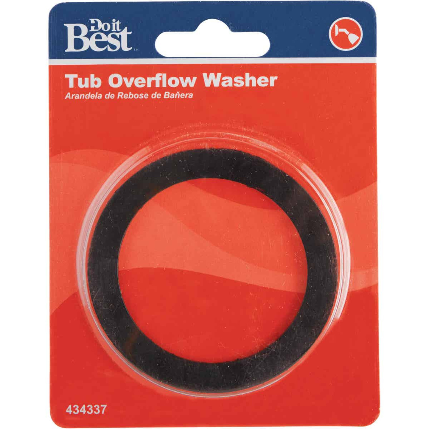 Do it Flat 2-1/8 In. Bath Overflow Washer Image 2