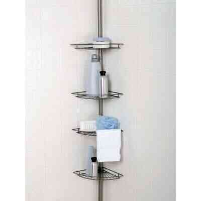 Zenith Metal 12 In. x 97 In. Shower Caddy