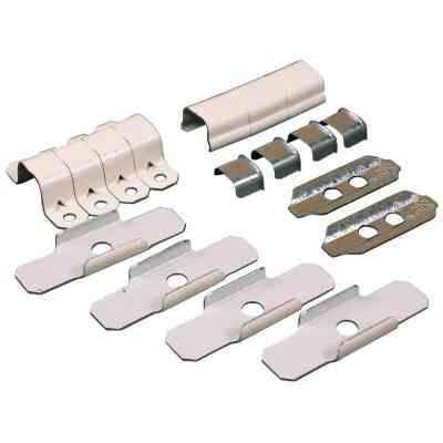 Wiremold Ivory Wire Protector Accessory Kit
