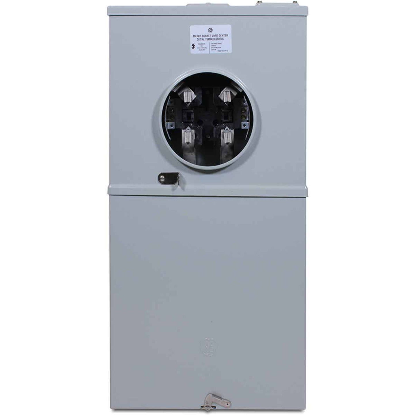 GE 200A 4-Space 8-Circuit Outdoor Load Center Image 1