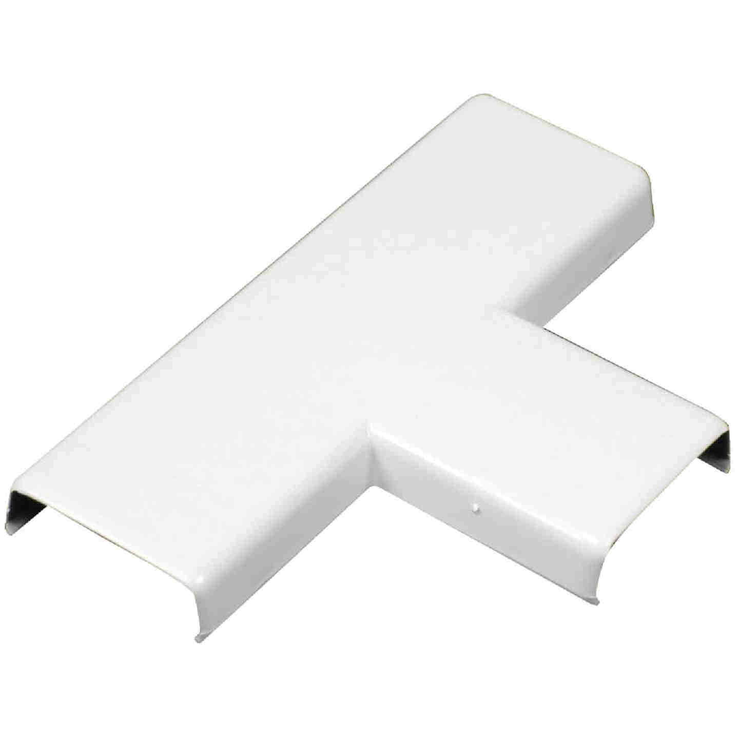 Wiremold CordMate White 1-5/16 In. W x 7/16 In. H. 90 Deg T-Fitting Image 1