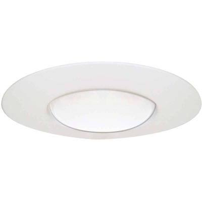 Halo 6 In. White Open Recessed Fixture Trim