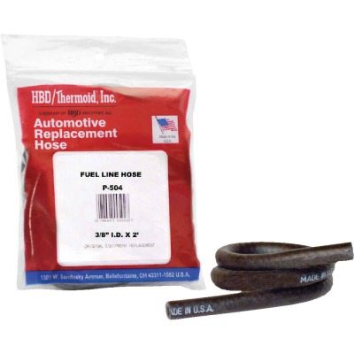 Thermoid 3/8 In. ID x 2 Ft. L. Fuel Line Hose