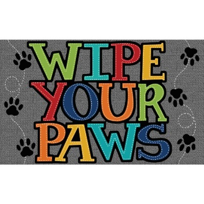 Mohawk Home 18 In. x 30 In. Wipe Paw Stitch Door Mat