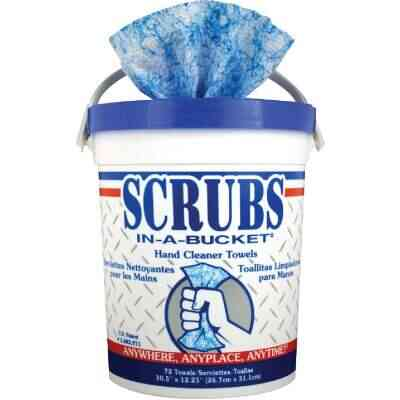 Scrubs Citrus Pop-up Dispenser Hand Cleaner Wipes, (72 Ct.)