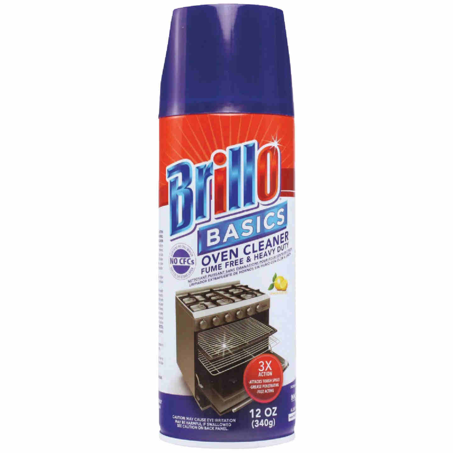 Brillo Basics 12 Oz. Aerosol Oven Cleaner Image 1
