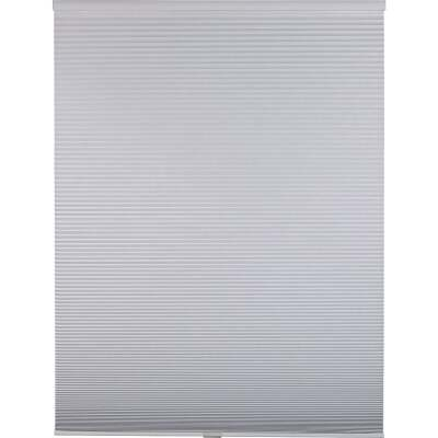 Home Impressions 1 In. Room Darkening Cellular White 72 In. x 72 In. Cordless Shade