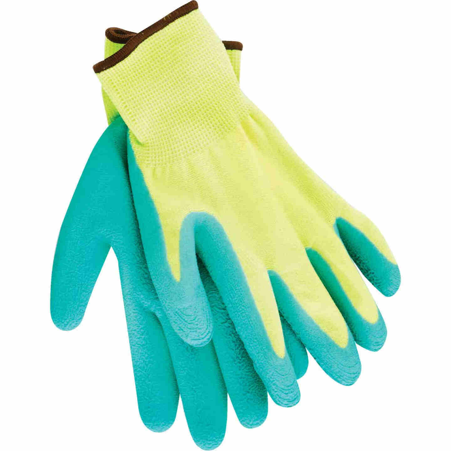 Do it Men's Large Grip Latex Coated Glove, Green Image 1