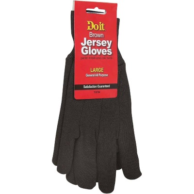 Do it Men's Large Jersey Work Glove (3-Pack)