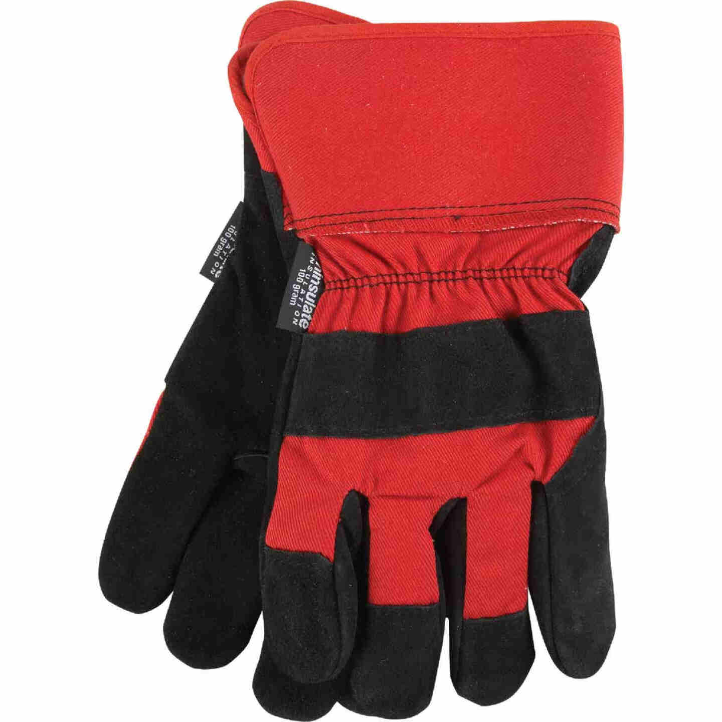 Do it Best Men's Large Leather Winter Work Glove Image 1