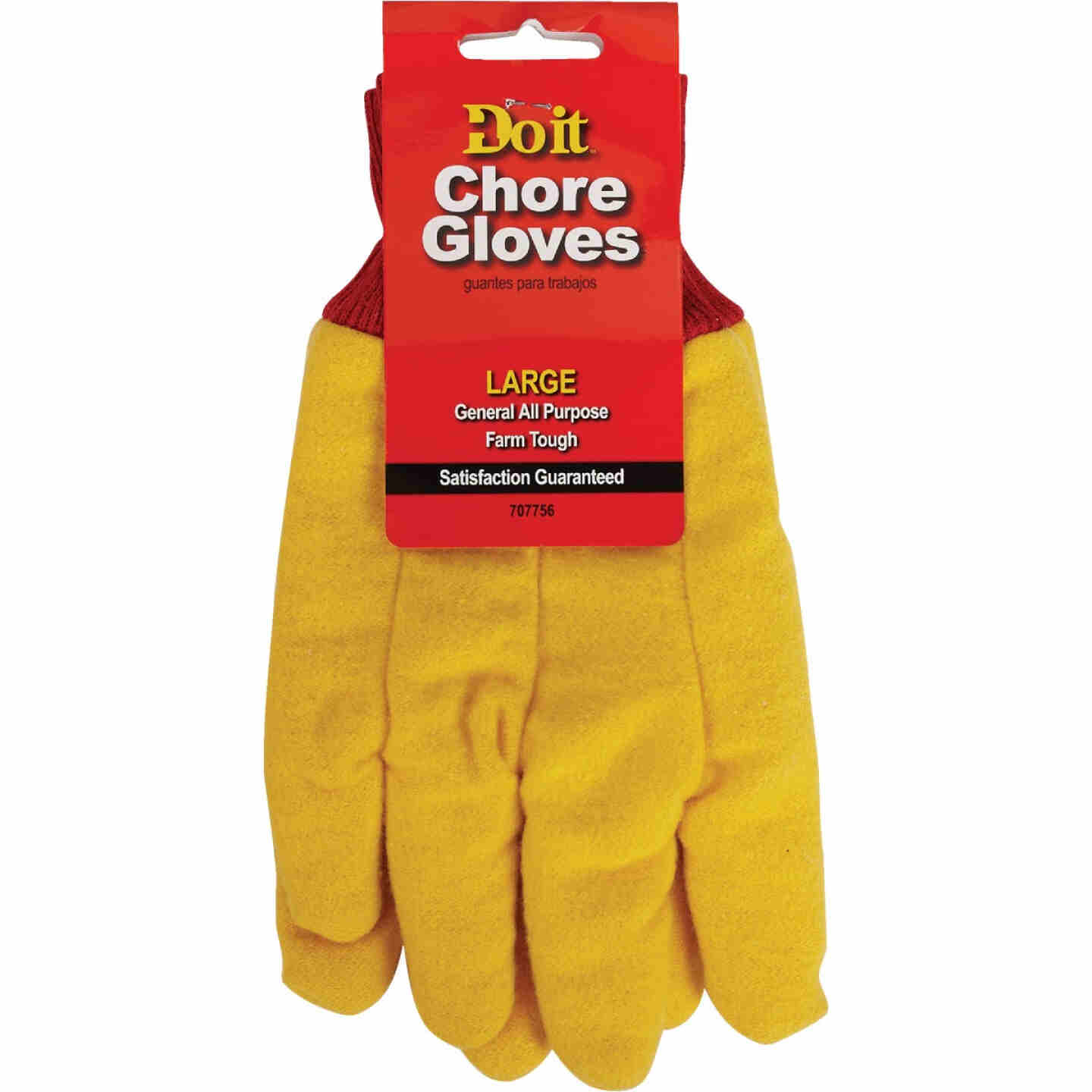 Do it Men's Large Fleece Chore Glove Image 3