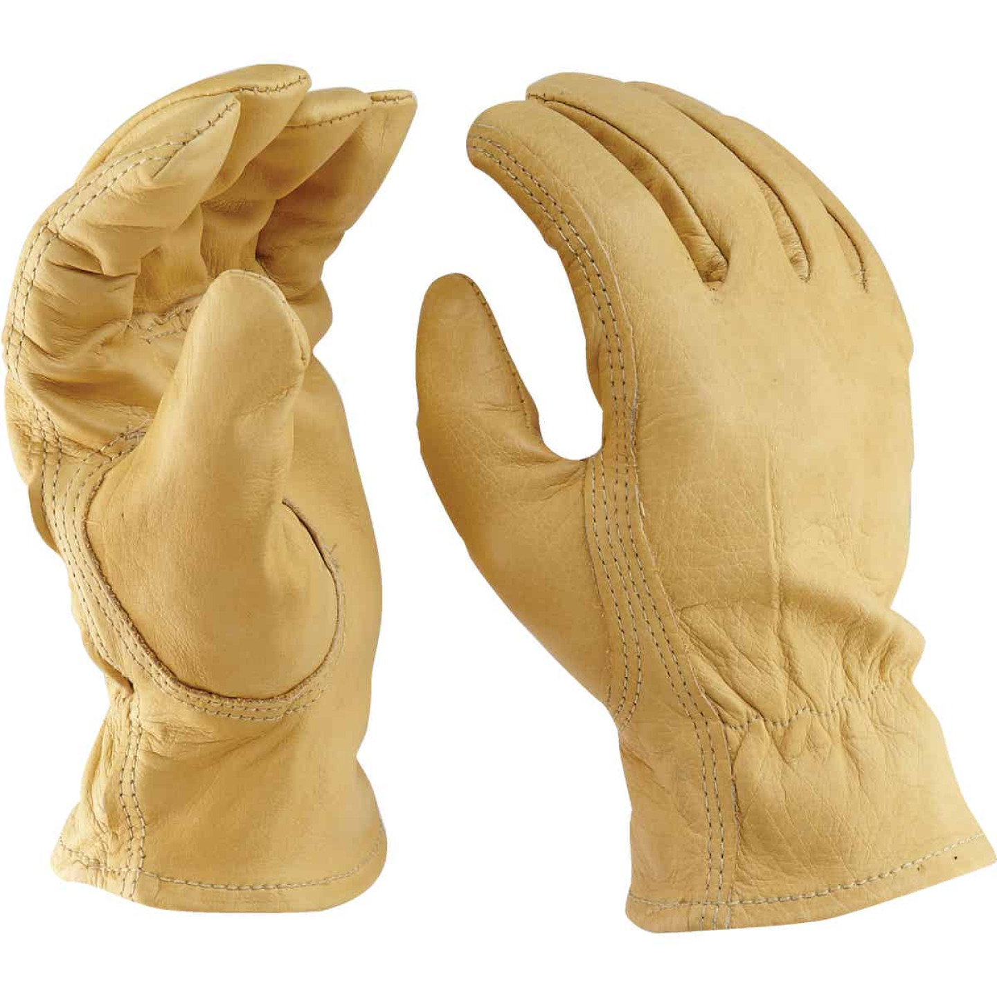Do it Best Men's Large Top Grain Leather Work Glove Image 8