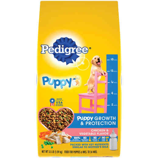 Pedigree Complete Nutrition 3.5 Lb. Roasted Chicken, Rice & Vegetable Dry Puppy Food