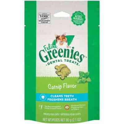 Greenies Catnip 2.1 Oz. Dental Cat Treats