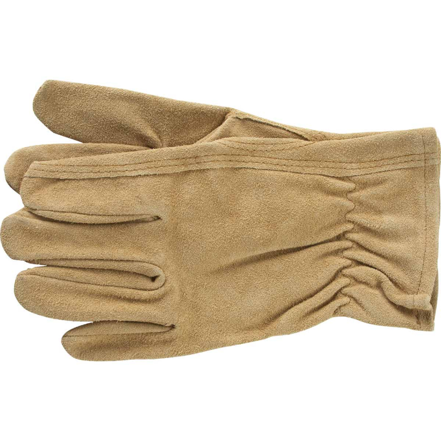 Do it Best Men's Large Suede Leather Work Glove Image 1