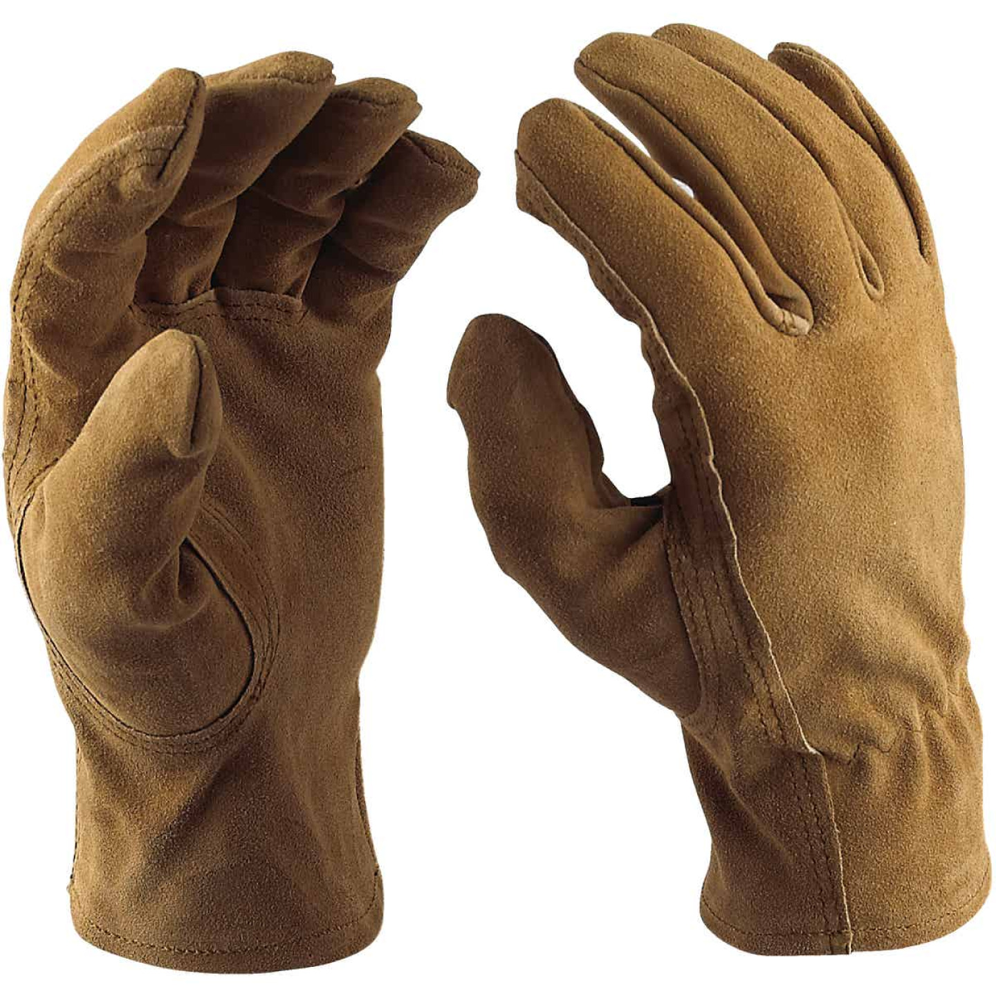 Do it Best Men's Large Suede Leather Work Glove Image 3
