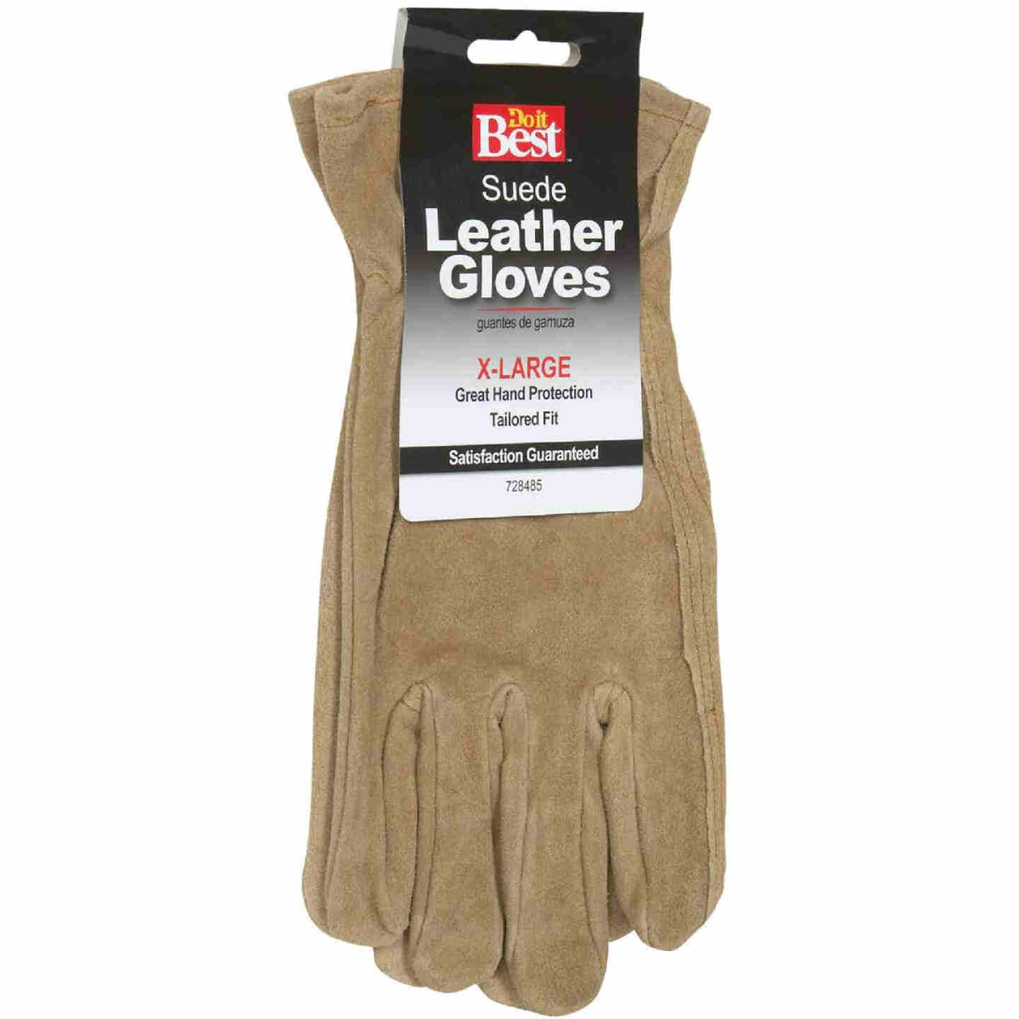 Do it Best Men's XL Suede Leather Work Glove Image 2