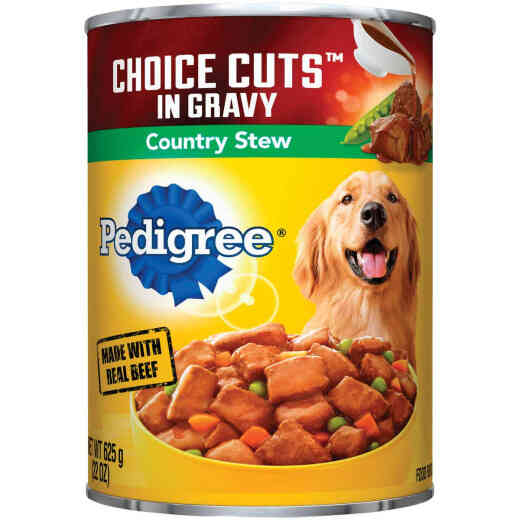 Pedigree Choice Cuts Country Stew Wet Dog Food, 22 Oz.