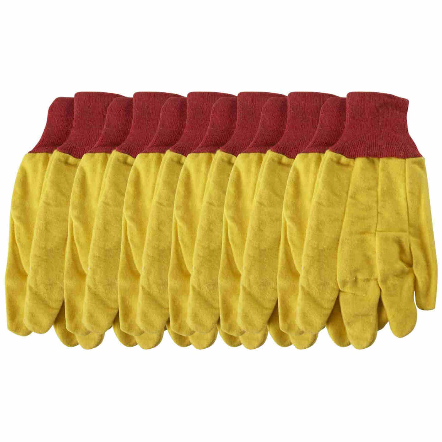 Do it Men's Large Fleece Chore Glove (6-Pack) Image 3