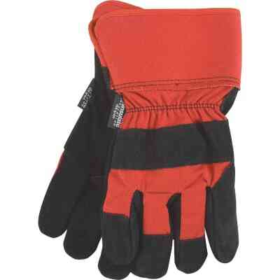 Do it Best Men's XL Leather Winter Work Glove