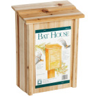 North States 8 In. W. x 15 In. H. x 4.75 In. D. Redwood Bat House Image 1