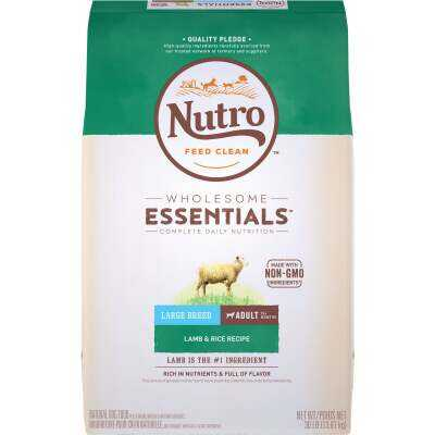 Nutro Wholesome Essentials 30 Lb. Lamb & Rice Large Breed Adult Dry Dog Food
