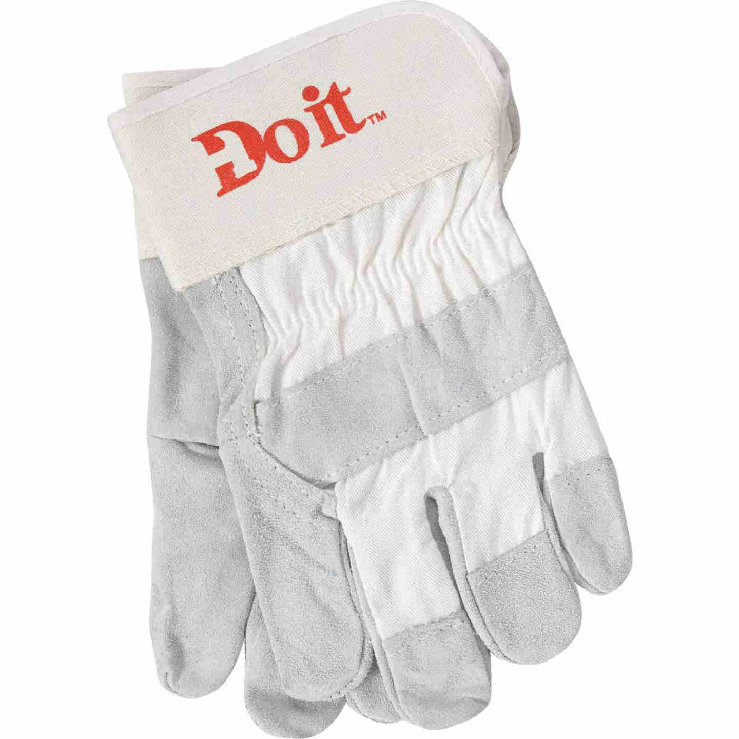 Do it Men's Large Leather Work Glove Image 1