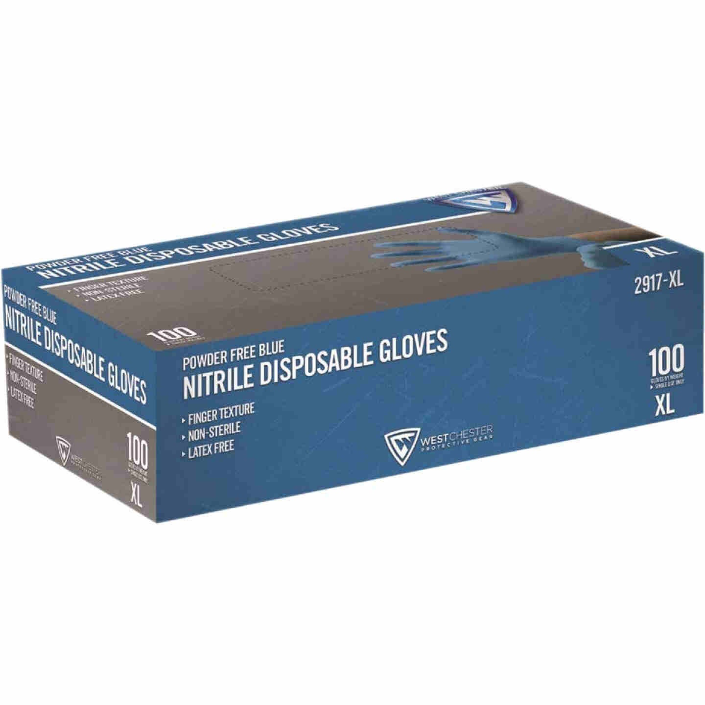 West Chester Protective Gear XL Nitrile Industrial Grade Disposable Glove (100-Pack) Image 1