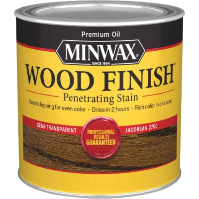 Minwax Wood Finish Penetrating Stain, Jacobean, 1/2 Pt.