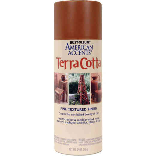 Rust-Oleum American Accents 12 Oz. Spray Paint, Terra Cotta Clay Pot