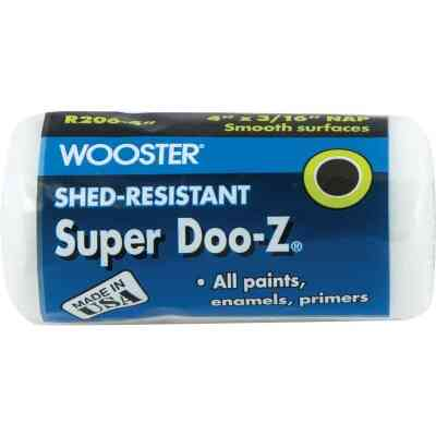 Wooster Super Doo-Z 4 In. x 3/16 In. Woven Fabric Roller Cover