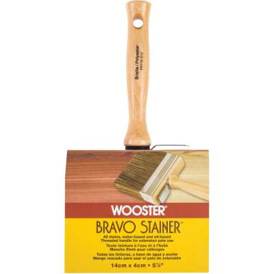 Wooster Bravo Stainer 5-1/2 In. Bristle Brush