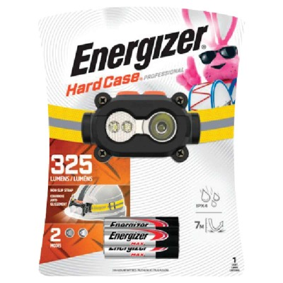 Energizer Hard Case Professional 325 Lm. LED 3AAA Headlamp