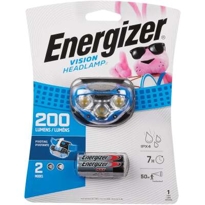 Energizer 200 Lm. LED 3AAA Headlamp