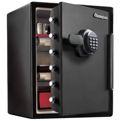 Sentry Safe 2 Cu. Ft. Capacity Digital Fire-Safe Floor Safe